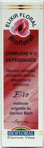 COMPLEXE FLEURS DE BACH N°1