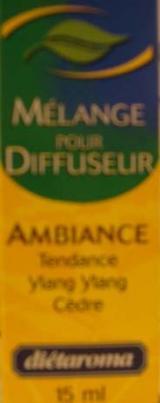 MELANGE POUR DIFUSEUR AMBIANCE
