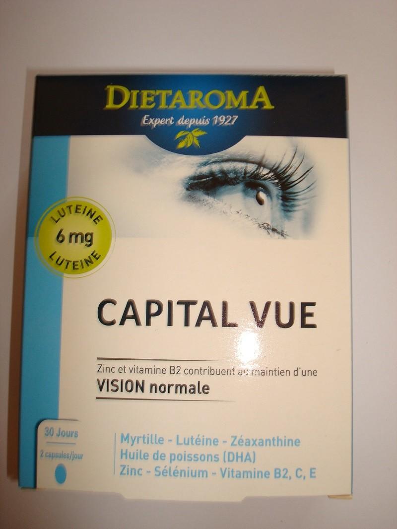 CAPITAL VUE  FORMULE ENRICHIE 10 MG DE LUTEINE LAB. DIETAROMA