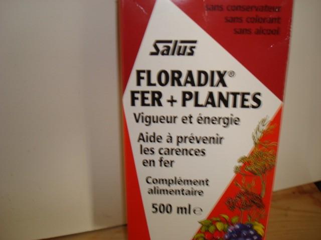 FLORADIX COCKTAIL  SALUS formule vigueur-energie  500 Ml