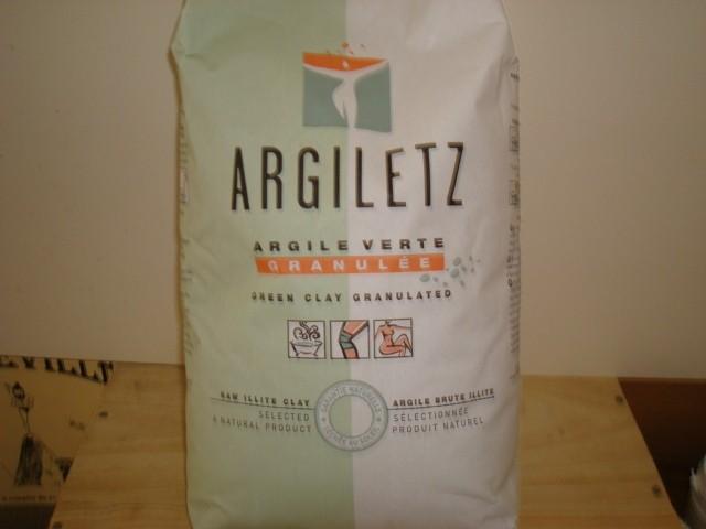 ARGILE VERTE GRANULEE ARGILETZ