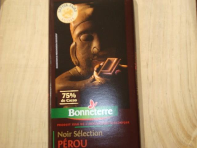CHOCOLAT NOIR 75%