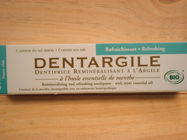Dentargile menthe CATTIER