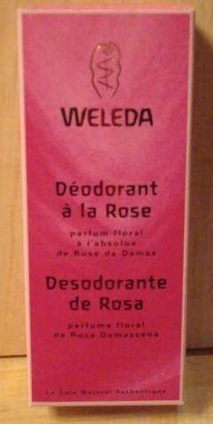 DEODORANT ROSE MUSQUEE WELEDA