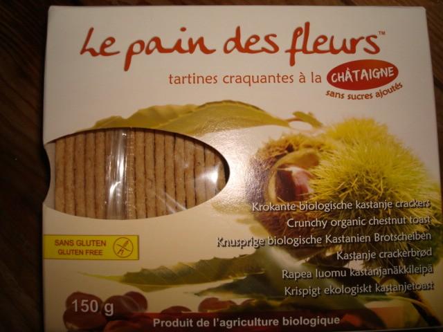 PAIN DES FLEURS  CHATAIGNE