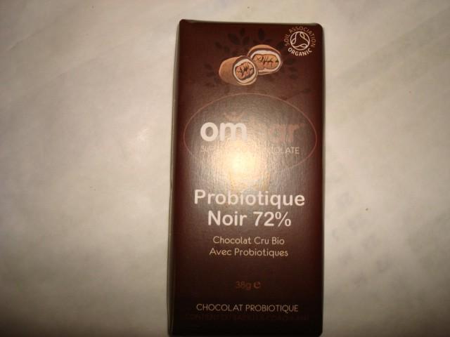 CHOCOLAT CRU 72% + PROBIOTIQUES OMBAR