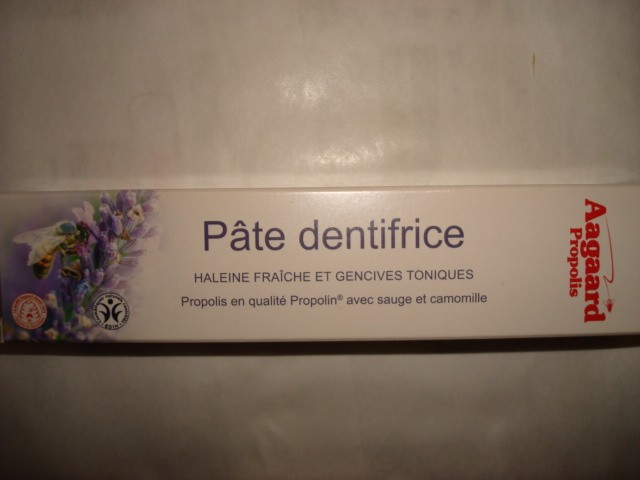 PATE DENTIFRICE AAGAARD