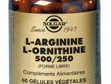 L-ARGININE-L-ORNITHINE SOLGAR