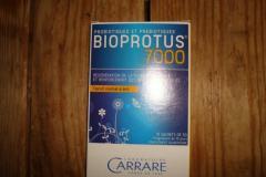 BIOPROTUS 7000 POUDRE CARRARE CURE DE PRO ET PREBIOTIQUES 10 JOURS