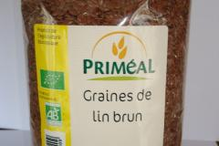 GRAINES DE LIN BRUNES BIO